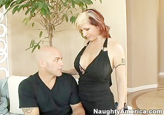excited cougar receives screwed right