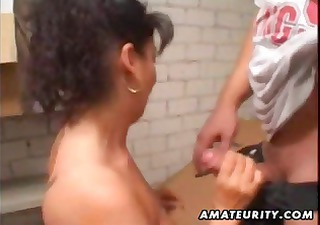 aged dilettante wife homemade anal with facial