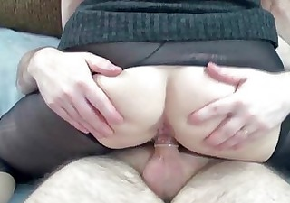 Mature slut Layla in pantyhose and getting dicked