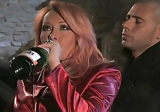 drunk redhead italian milf havin