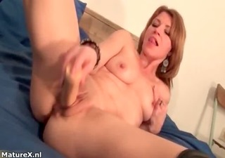 wicked golden-haired slut goes crazy sex tool