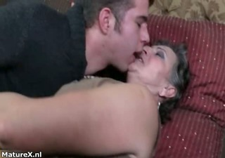 naughty fat mature woman goes crazy part1