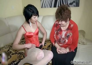 nasty old woman goes avid making out part9